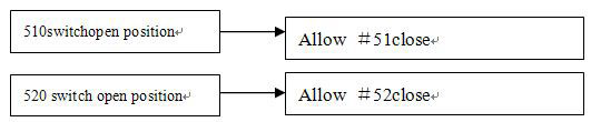 Conditions of switch on in direct on line